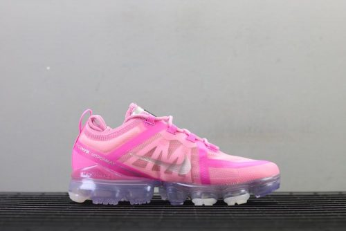 Nike Air VaporMax 2019 Run Utility Pink Rose Sneakers AR6631-400 2