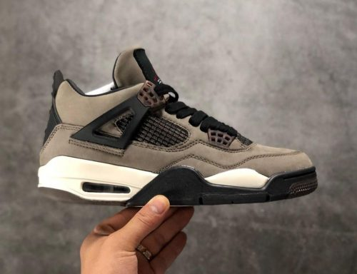 Air Jordan 4 x Travis Scott Olive