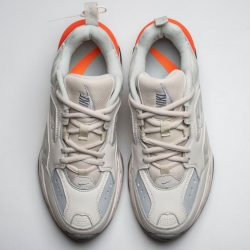 Nike M2K Tekno White Grey Orange AO3108-001 Dad Sneaker 6