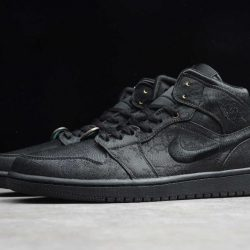 Air Jordan 1 Mid Fearless Black CU2804-300  2