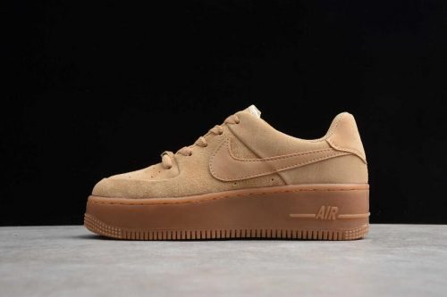 Nike Air Force 1 Sage Low Wheat Color CT3432-700 1